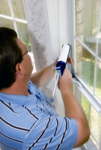 caulking-window-frame