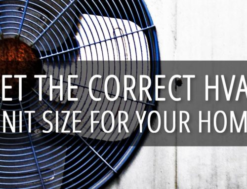 When It Comes to Air Conditioning – Size Matters